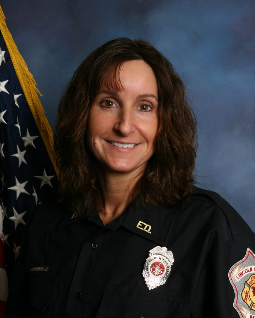 Donna Creech Lincoln County Fire Administrative Assistant